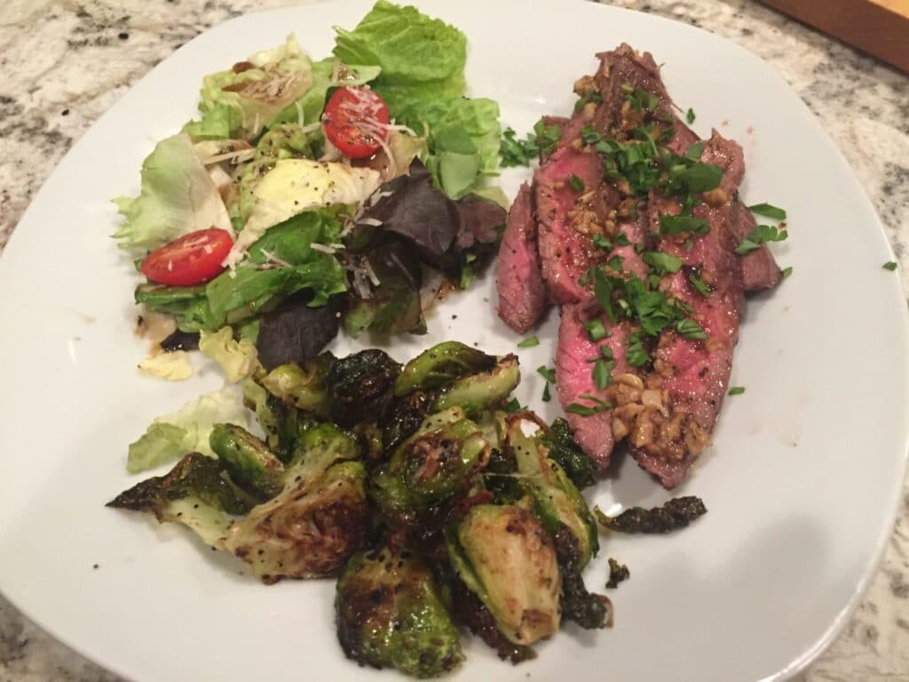Brazilian style grilled flank