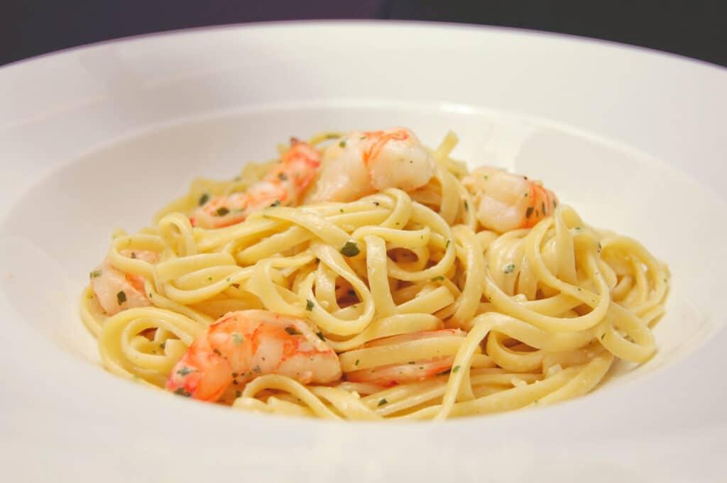 Parilla Butter Shrimp and Linguine Pasta