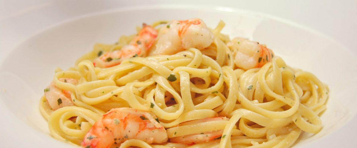 Parilla Butter Shrimp and Linguine Pasta